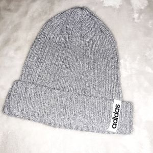 NEW ADIDAS Ribbed Knit Beanie Hat
